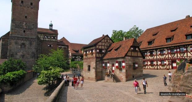 Нюрнберг достопримечательности Крепость