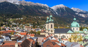 Инсбрук, австрийские Альпы