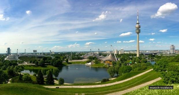Олимпийский парк в Мюнхене и Музей БМВ