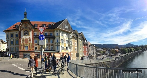 Баварский городок Бад Тёльц под Мюнхеном